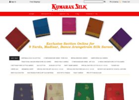 Kumaransilk.in thumbnail