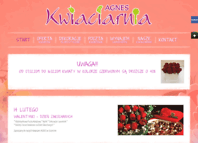 Kwiaciarniaagnes.pl thumbnail