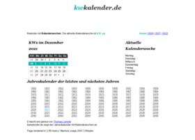 Kwkalender.de thumbnail