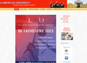 Laamericanuniversity.edu.ni thumbnail