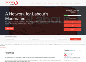 Labourfirst.org thumbnail