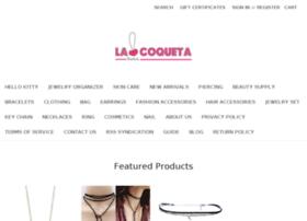 Lacoquetajewelry.net thumbnail