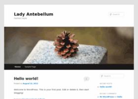 Lady-antebellum.org thumbnail