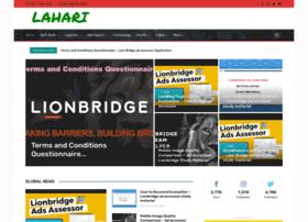 Lahari.net thumbnail