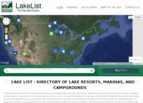 Lakelist.com thumbnail