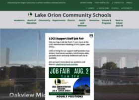 Lakeorionschools.org thumbnail