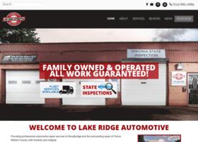 Lakeridgeautomotive.net thumbnail