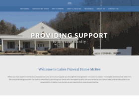 Lakesfuneralhomemckee Com At Wi Lakes Funeral Home Mckee Ky
