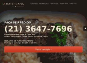 Lamatriciana.com.br thumbnail