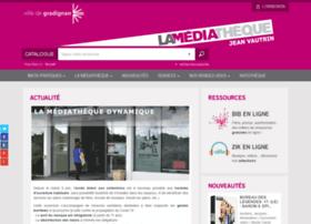Lamediathequedegradignan.fr thumbnail