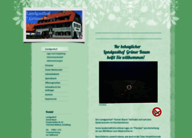 Landgasthof-gruenerbaum.de thumbnail