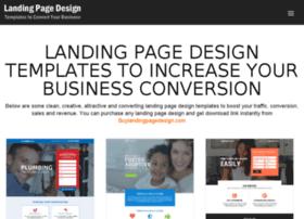 Landingpagedesigntemplates.com thumbnail