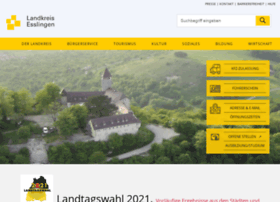 Landkreis-esslingen.de thumbnail