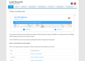 Landrecords.co.in thumbnail