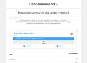 Landsnummeret.se thumbnail