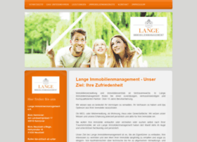 Lange-immobilienmanagement.de thumbnail