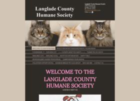 Langladecountyhumanesociety.org thumbnail