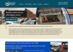 Langleymotors.co.uk thumbnail