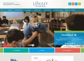 Langleyschool.org thumbnail