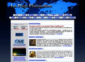 Lapagefinanciere.fr thumbnail