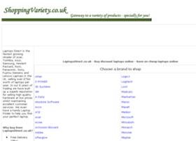Laptops-online.shoppingvariety.co.uk thumbnail