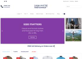 Largeandtallmenswear.co.uk thumbnail
