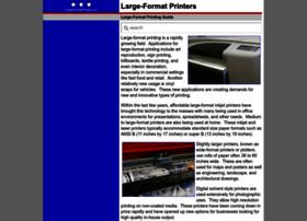Largeformatprinters.us thumbnail