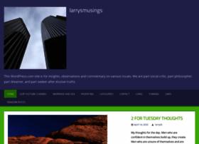 Larrysmusings.com thumbnail