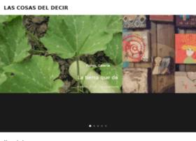 Lascosasdeldecir.com.ar thumbnail
