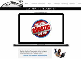 Lastminute-flughafen.de thumbnail