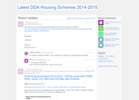 Latestddahousingschemes.wordpress.com thumbnail