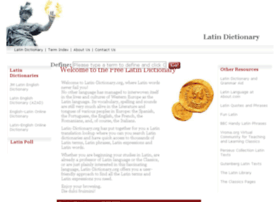 Latin-dictionary.org thumbnail