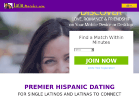 chandlersville latin dating site Latinconexionescom is dedicated to the many beautiful latin cultures around the world this site will enable you to connect with friends, meet new friends, build new relationships, search for latin dating partners and even find that special someone who will become a major part of your life.