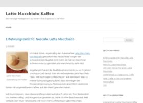 Lattemacchiatokaffee.net thumbnail