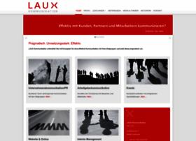 Laux-kommunikation.de thumbnail