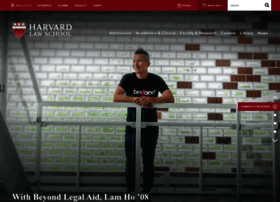Law.harvard.edu thumbnail