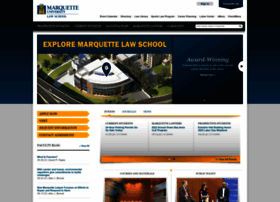 Law.marquette.edu thumbnail