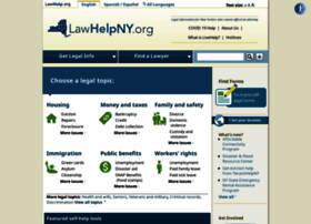 Lawhelpny.org thumbnail
