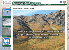 Lawine-steiermark.at thumbnail