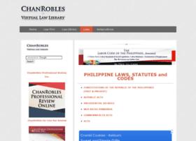 Laws.chanrobles.com thumbnail