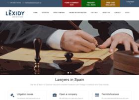 Lawyersspain.eu thumbnail