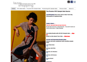 lazarshopping.com at WI. The Premier NYC Sample Sale Source ...