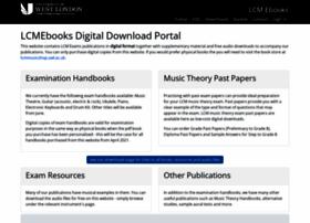 Lcmebooks.org thumbnail