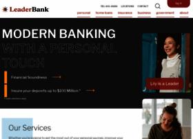 Leaderbank.com thumbnail