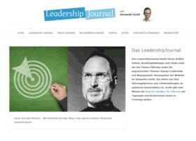 Leadershipjournal.de thumbnail