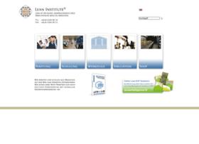 Lean-institute.de thumbnail