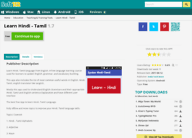 Learn-hindi-tamil.soft112.com thumbnail