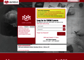 Learn.unm.edu thumbnail