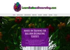 Learnballoondecorating.info thumbnail