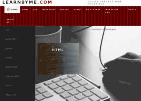 Learnbyme.com thumbnail